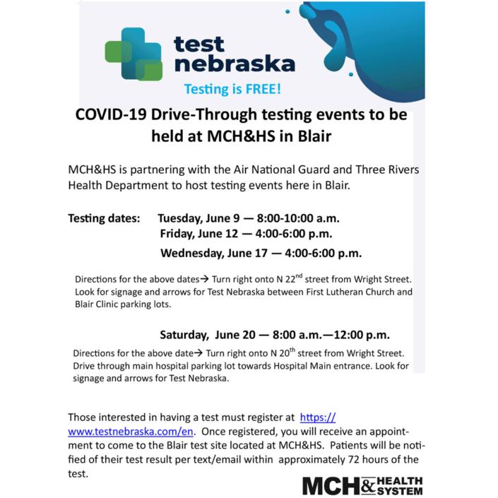 MCHHS Covid-19 Testing