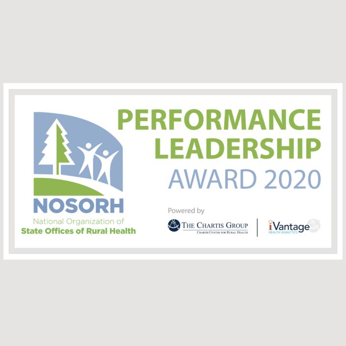 MCH&HS Performance Leadership Award 2020